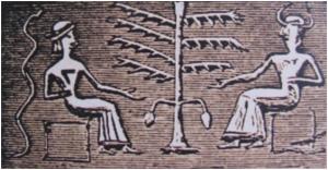 Adam in Eva, pečat